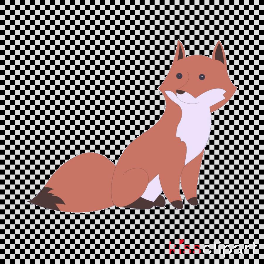 red fox cartoon fox swift fox tail
