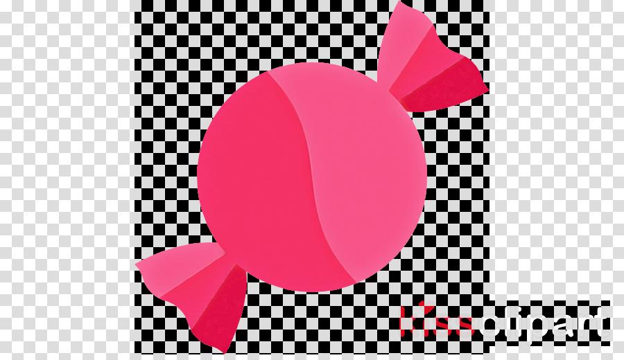 pink petal magenta circle ribbon