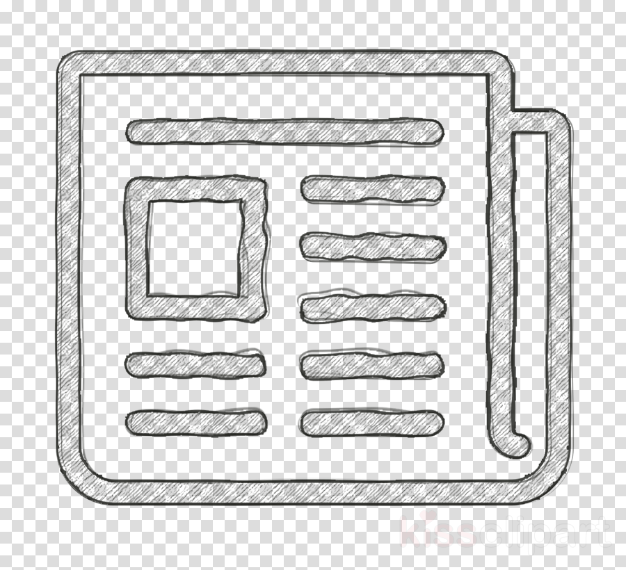 Paper icon Print icon Newspaper Folded icon