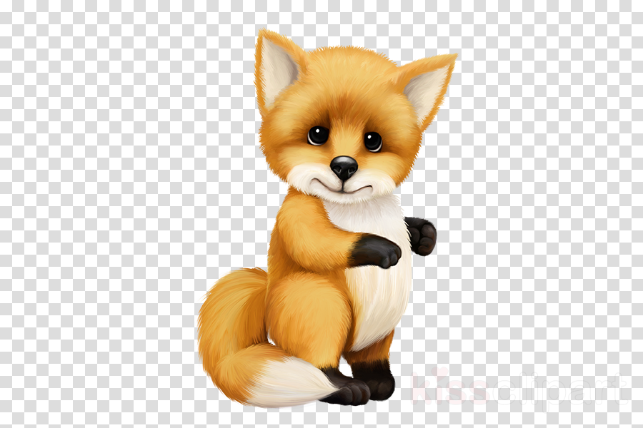 red fox fox fennec fox animal figure cartoon