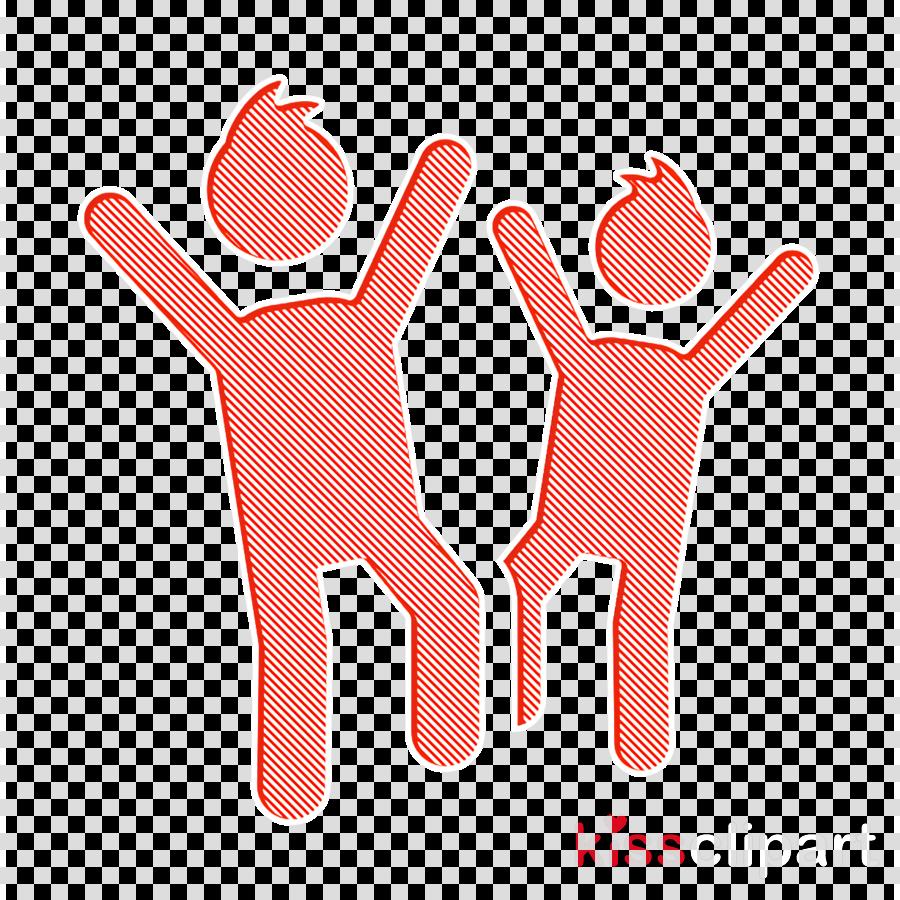 Happy Children icon Friendship icon Children Day icon