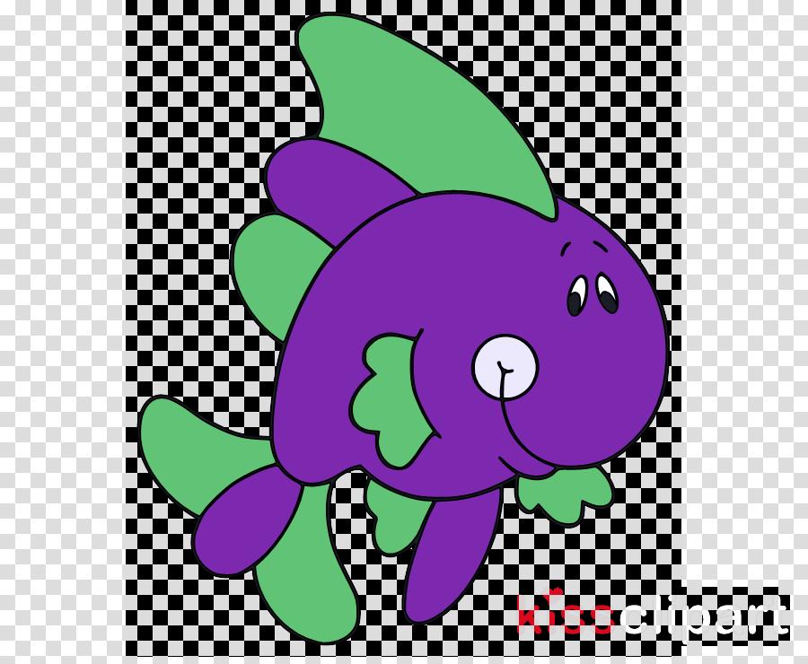 purple cartoon violet green plant