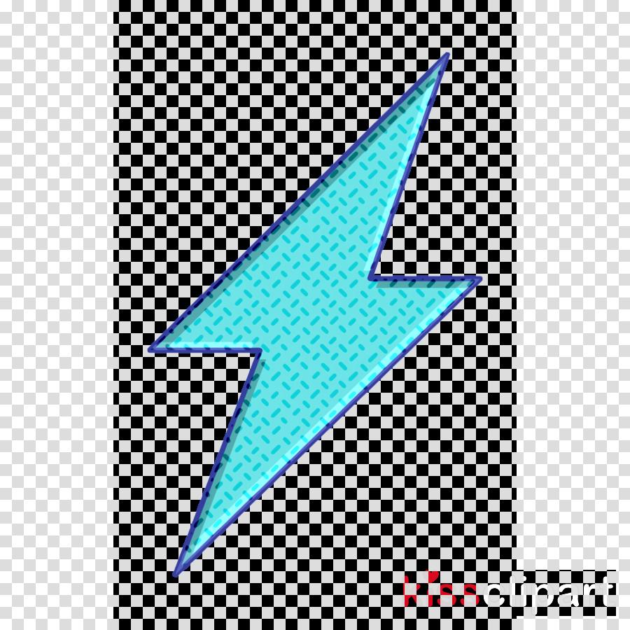shapes icon Flash icon Lightning icon