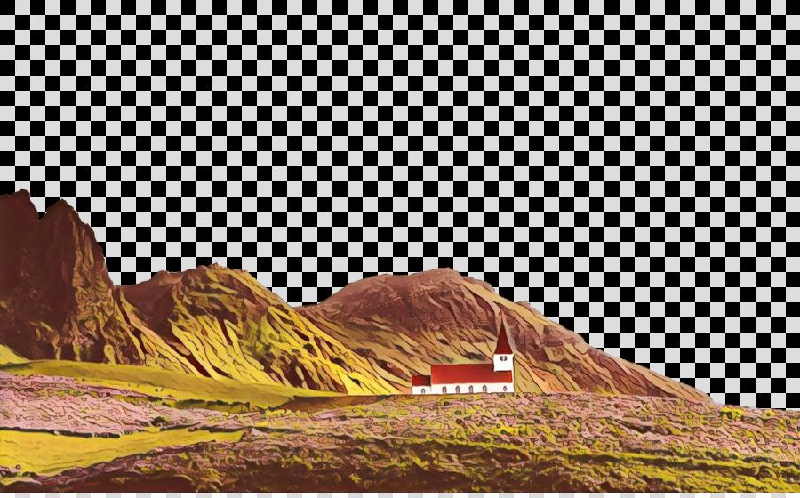 mountainous landforms badlands rock natural landscape hill