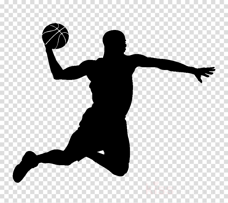 volleyball player basketball player silhouette basketball throwing a ball