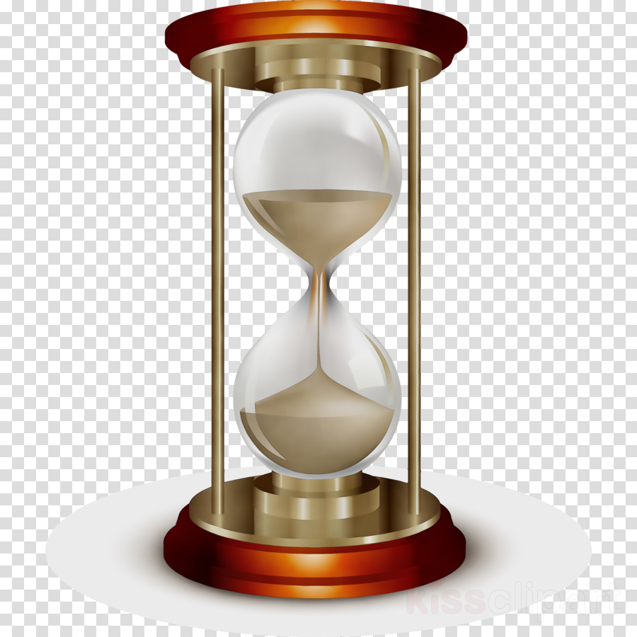 hourglass measuring instrument brass metal glass