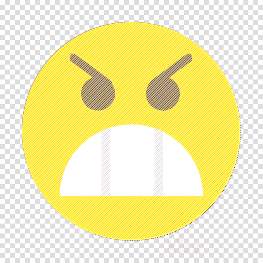 Emoji icon Emoticons icon Angry icon