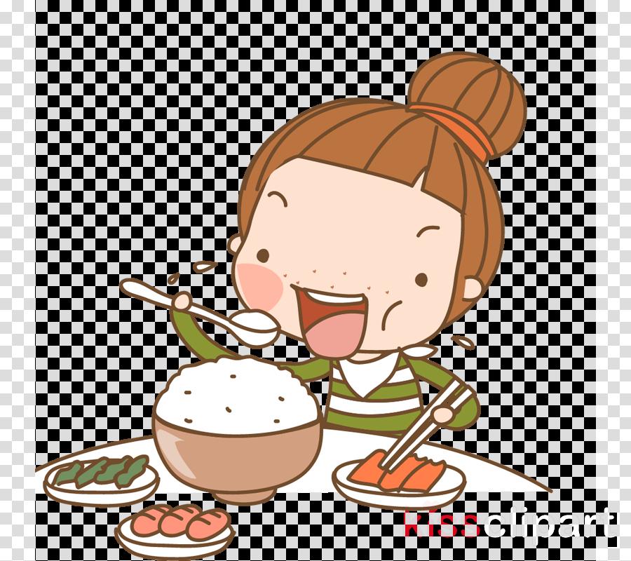 Девочка ест курицу рисунки