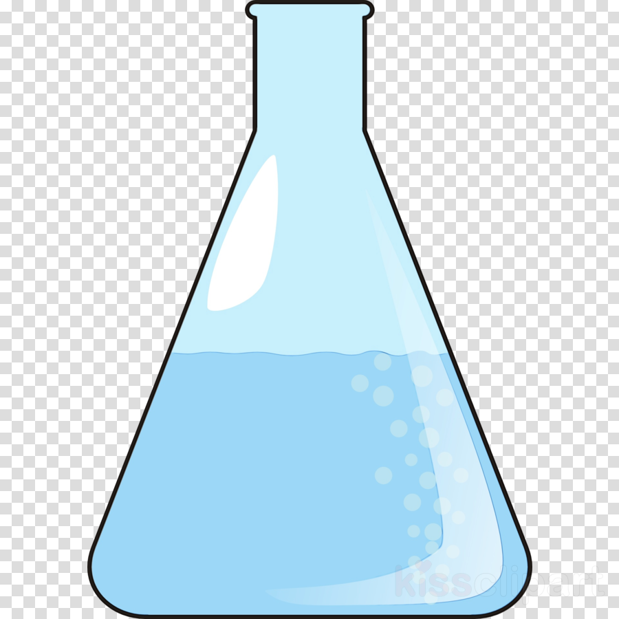 laboratory flask water aqua beaker flask