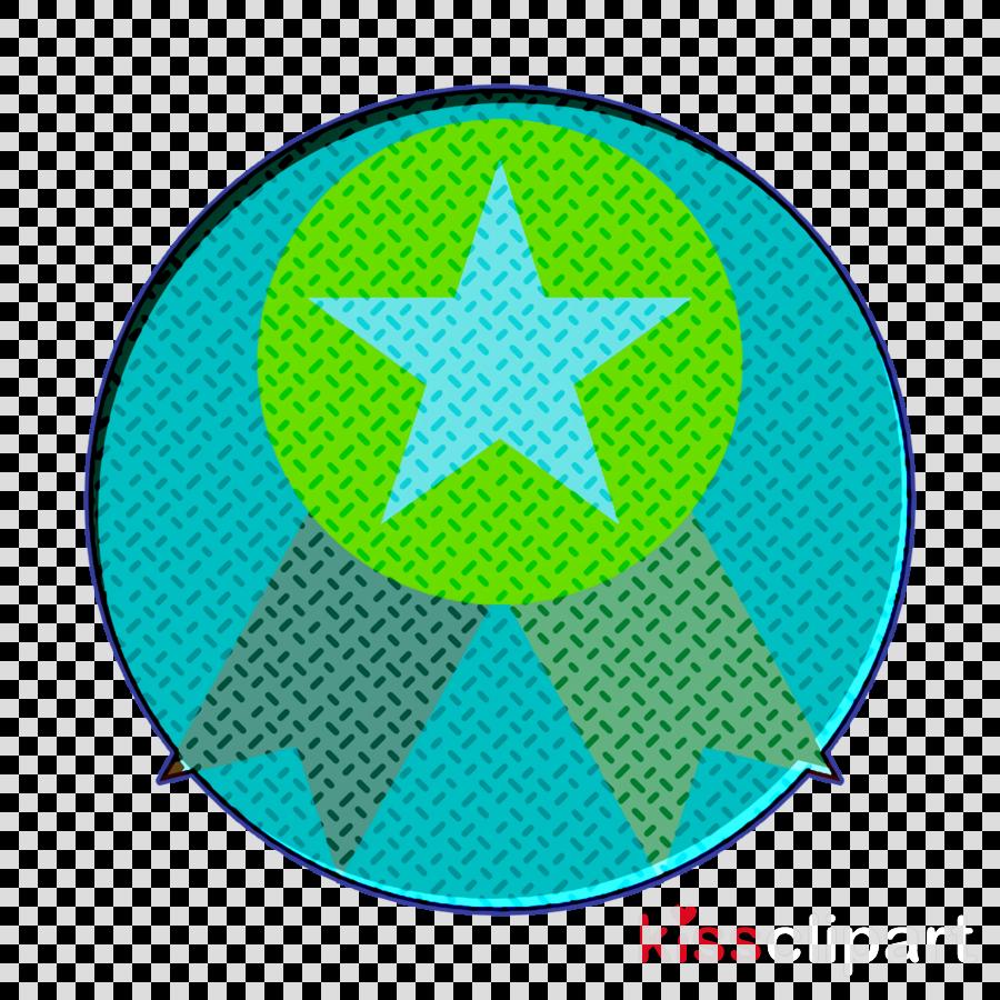 Digital marketing icon Medal icon Reward icon