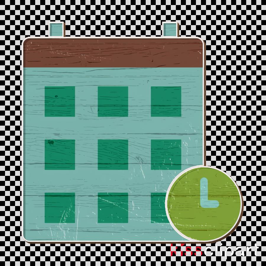 Office elements icon Calendar icon