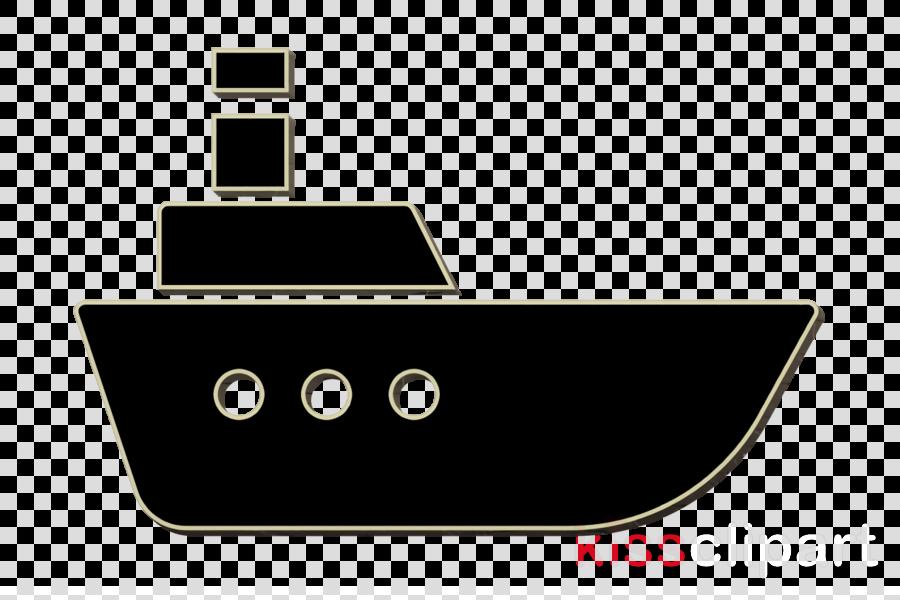 Logistics Delivery icon Sea ship icon transport icon