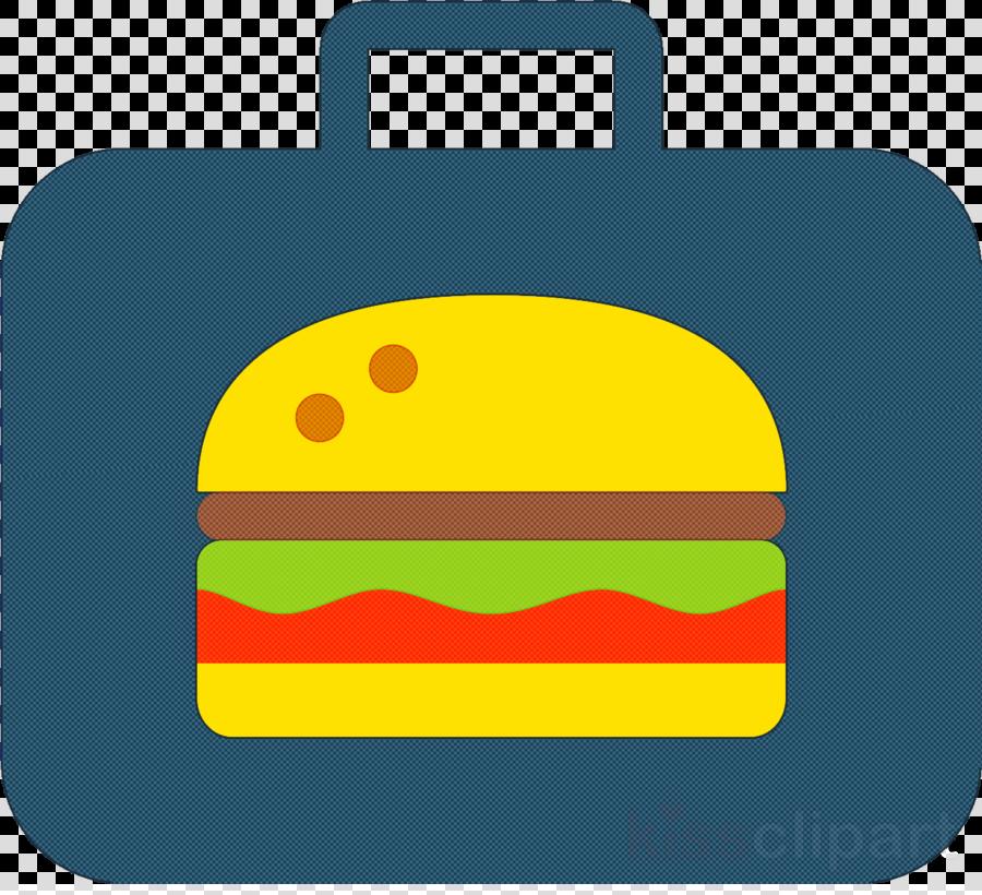 yellow green fast food cheeseburger icon