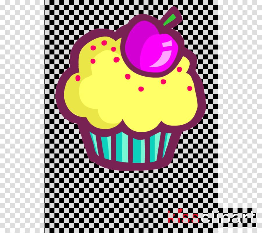 baking cup cupcake pink icing purple