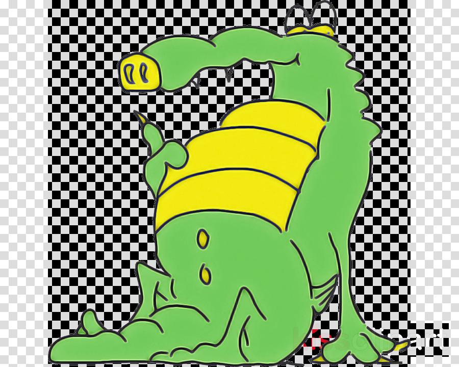 green leaf crocodile