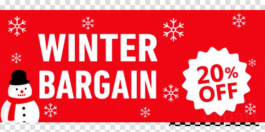 Winter Sale Winter Bargain Promotion