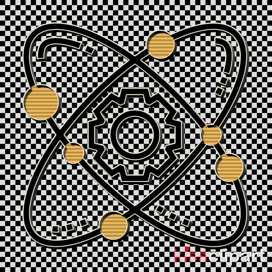 Gear icon STEM icon Atom icon