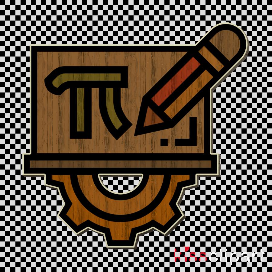 Mathematics icon STEM icon Pi icon