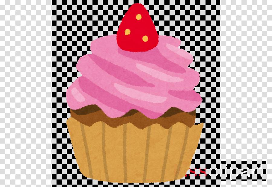 cupcake baking cup pink food icing