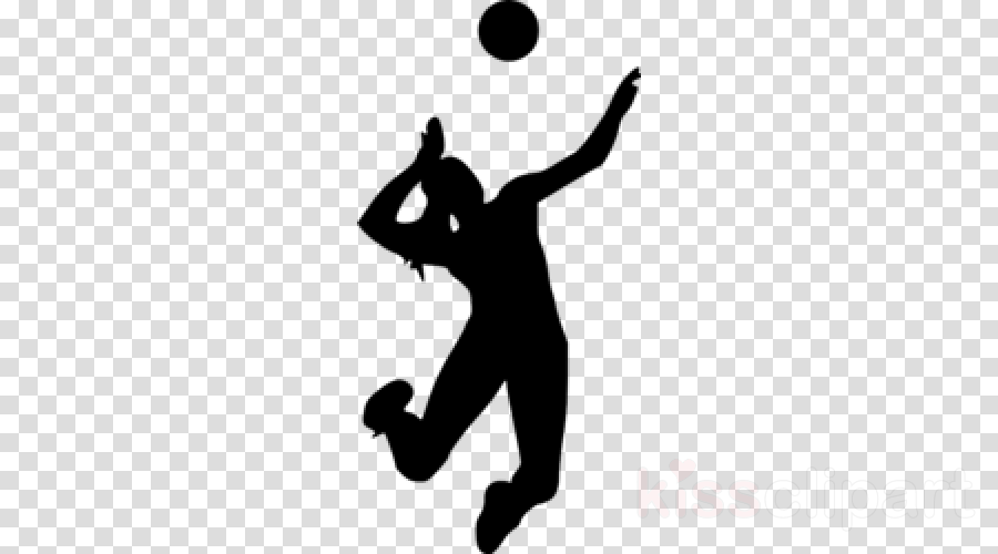 volleyball player silhouette throwing a ball basketball player playing sports