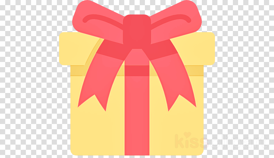 pink yellow red ribbon material property