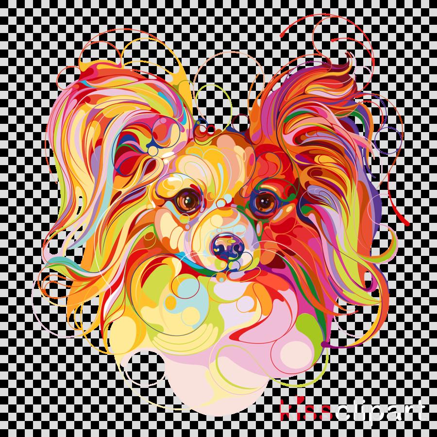 dog heart fawn spaniel