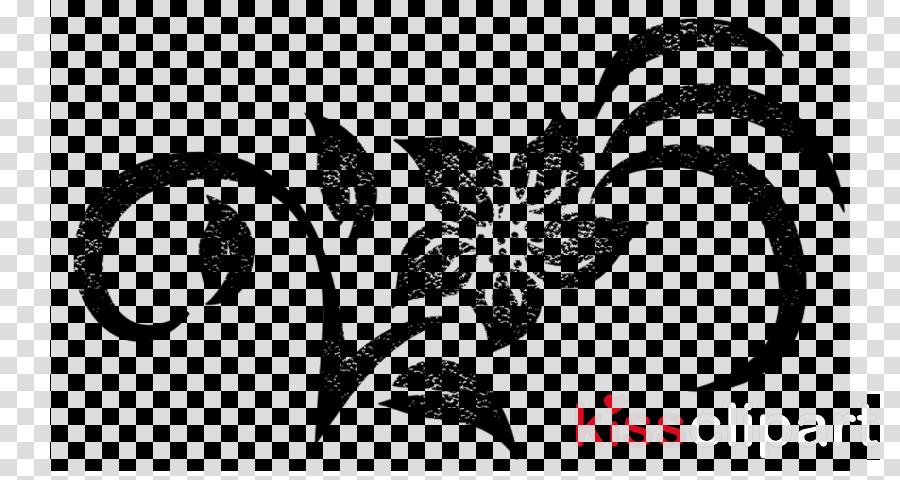 black-and-white leaf stencil font plant