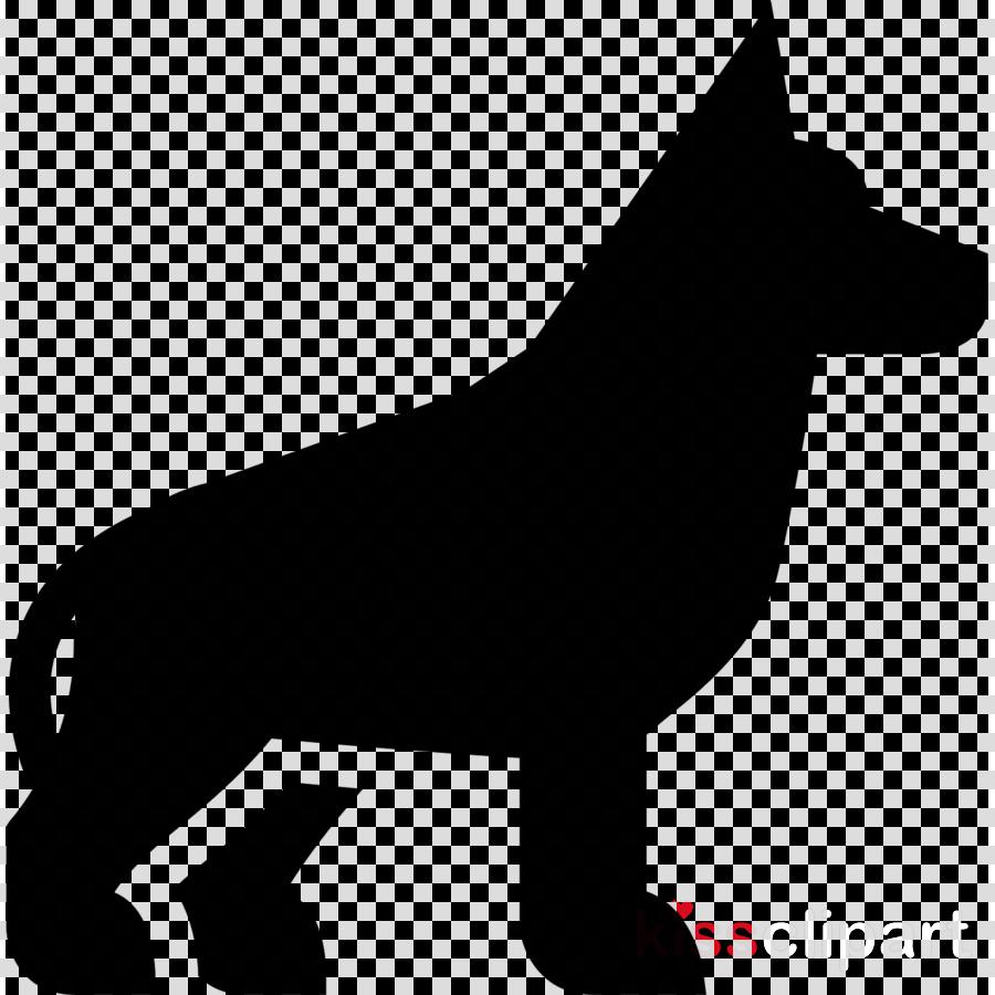 dog pembroke welsh corgi silhouette tail