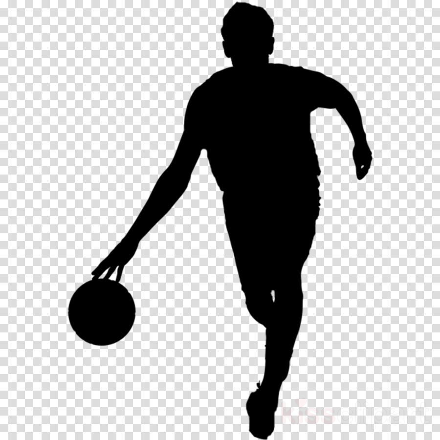 silhouette standing soccer kick basketball player volleyball player