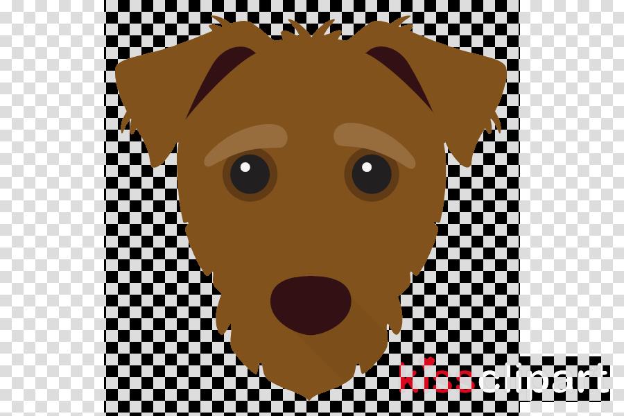 dog nose head cartoon snout
