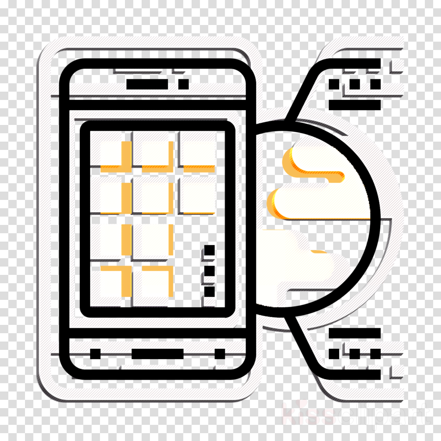 Electronics icon Smartphone icon Artificial Intelligence icon