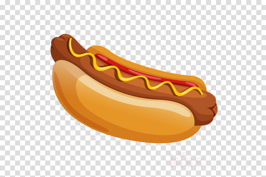 sausage fast food banana mouth yellow