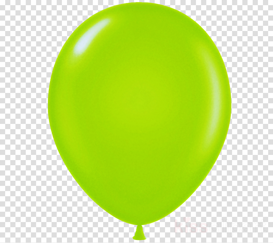 green balloon yellow party supply
