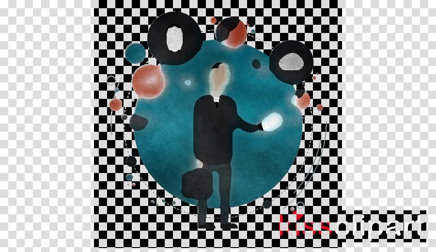 turquoise cartoon t-shirt circle animation