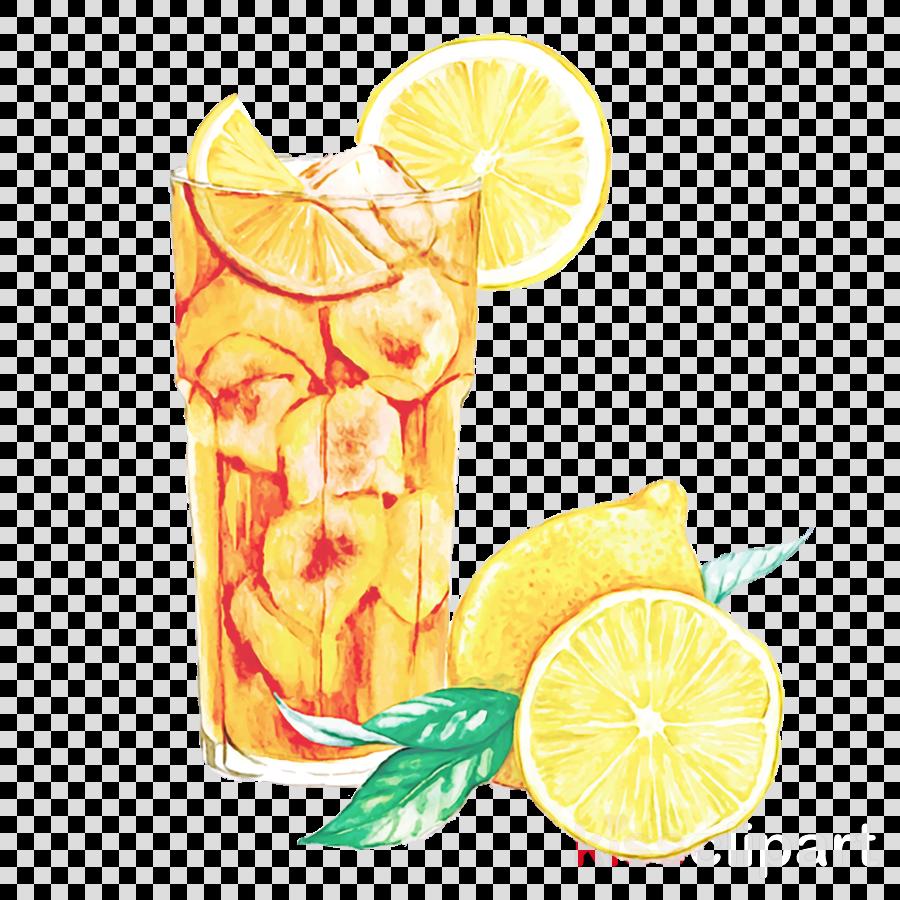 lemon lime cocktail garnish lemon-lime drink