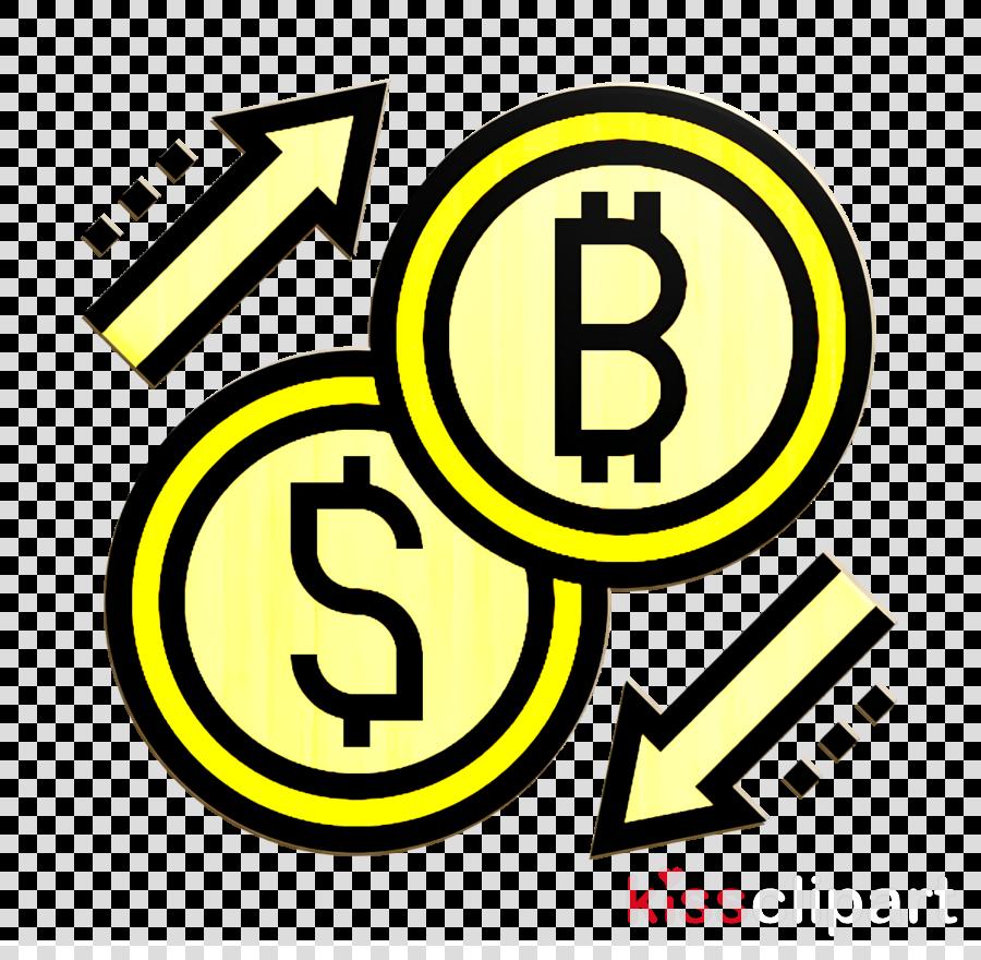 Blockchain icon Exchange icon Bitcoin icon
