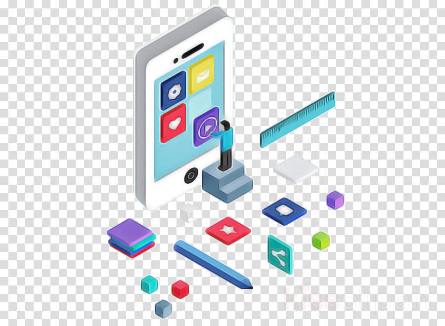 technology gadget line mobile phone communication device