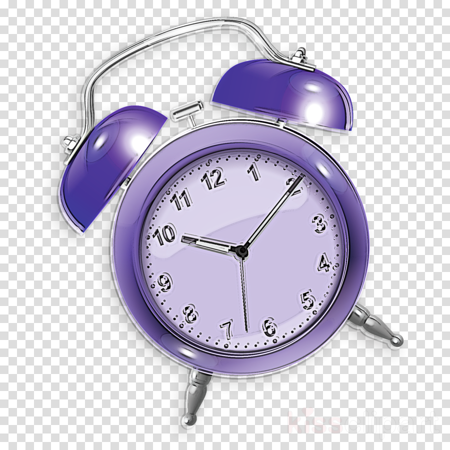 analog watch alarm clock watch clock purple