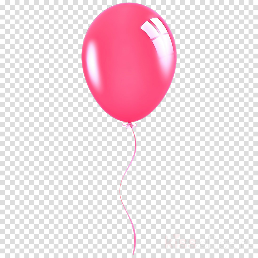 balloon pink red party supply magenta