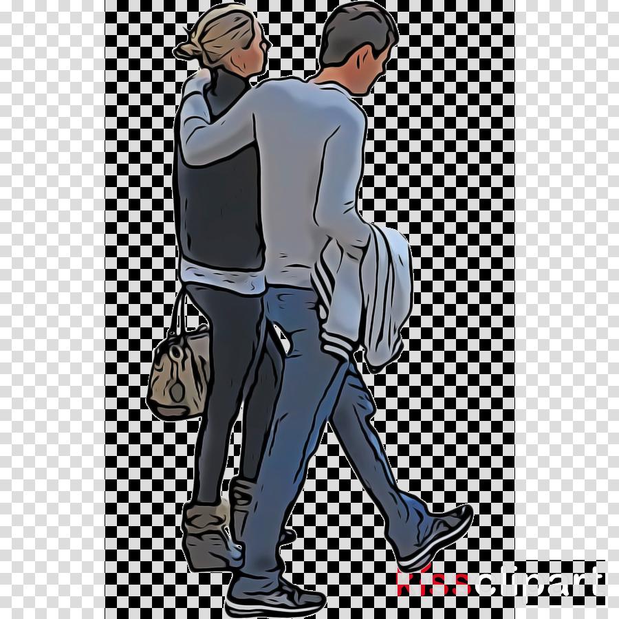 cartoon standing male footwear gesture
