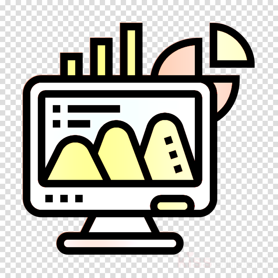 Bar chart icon Business Essential icon Office icon