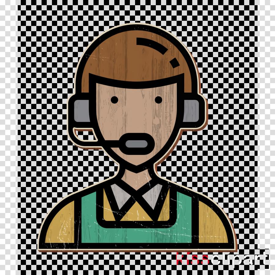 Customer service icon Boy icon Careers Men icon