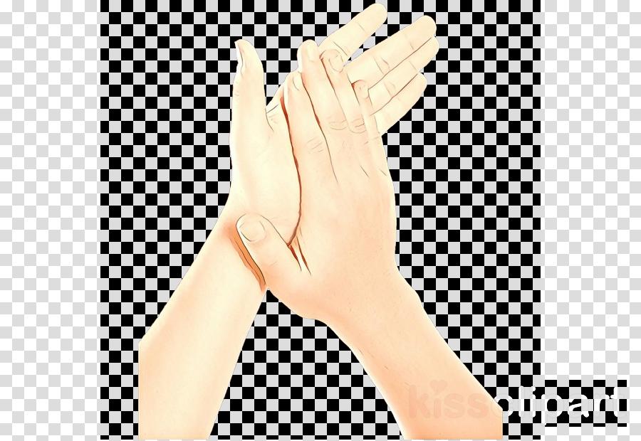 hand finger skin gesture glove