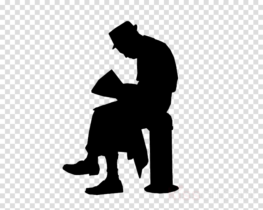 silhouette sitting male font standing
