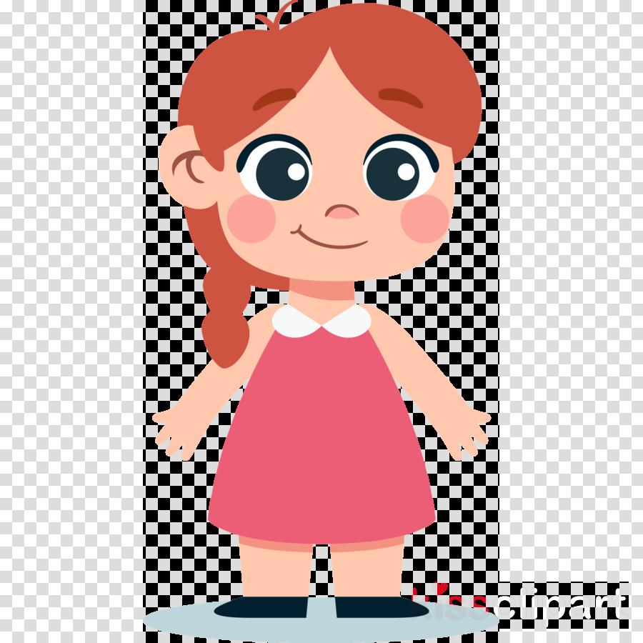 cartoon pink cheek child animation