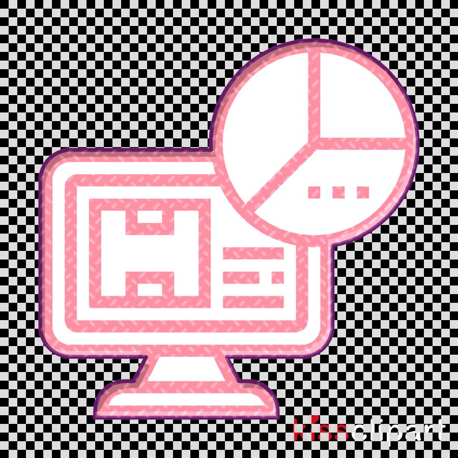 Database Management icon Pie chart icon Statistics icon