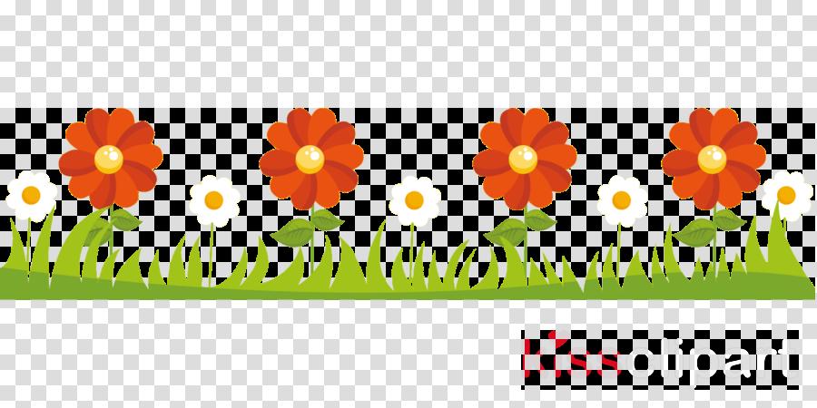 flower border flower background