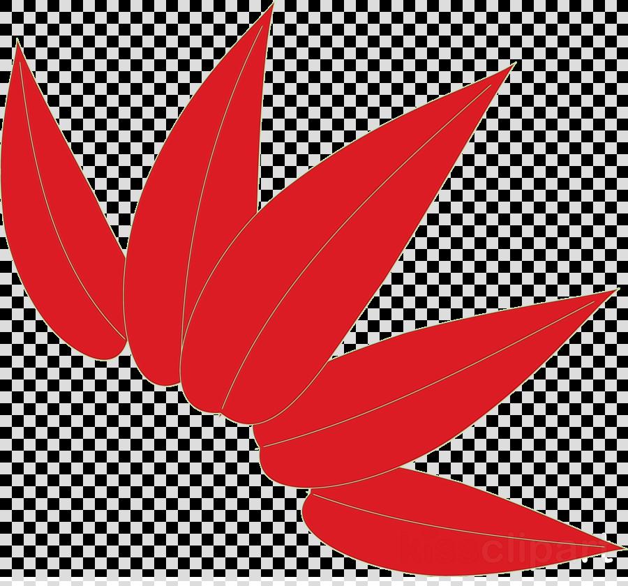 leaf red logo plant flower
