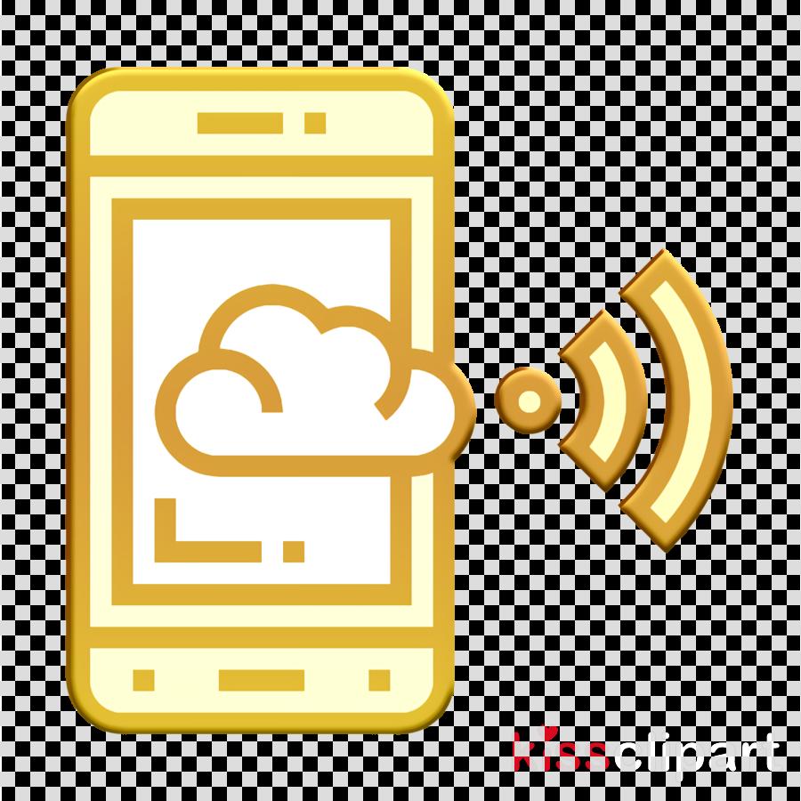 Digital Banking icon Cloud computing icon Access icon