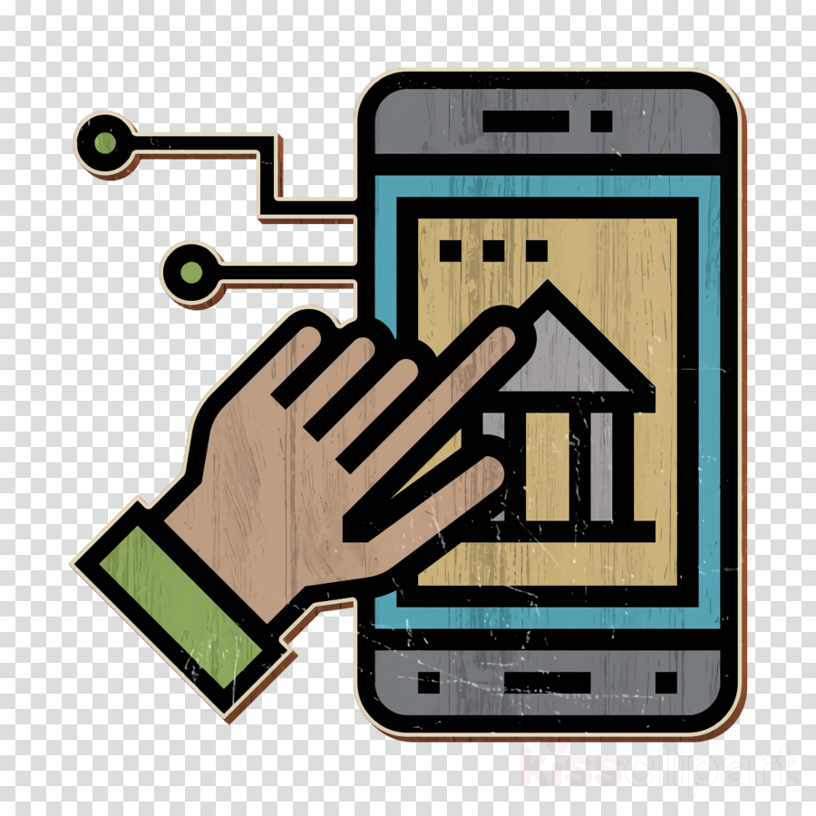 Digital Banking icon App icon Online banking icon